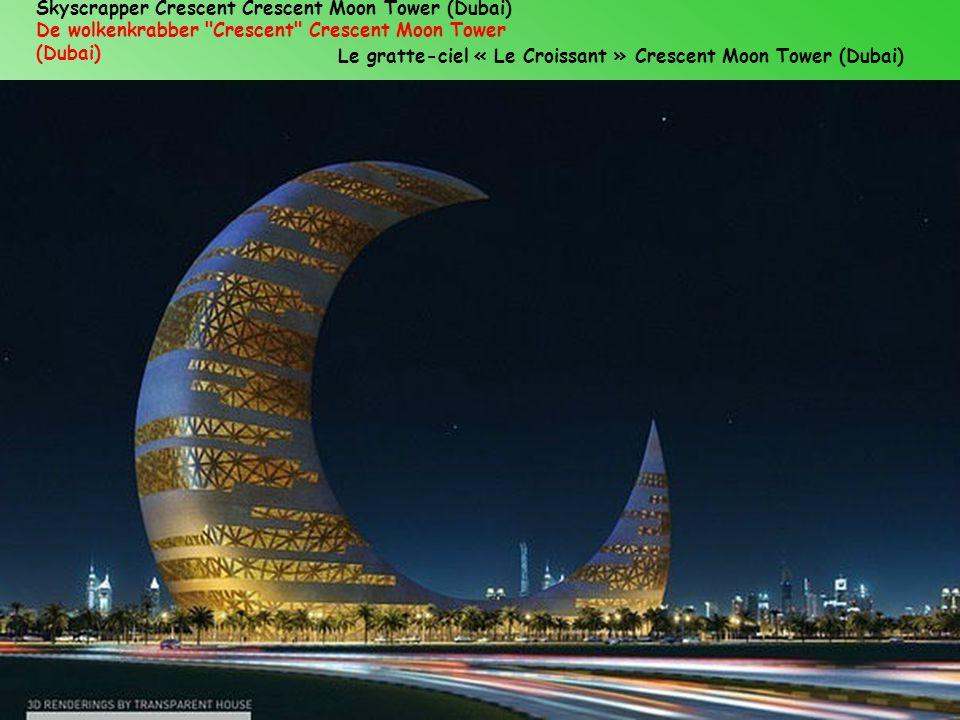 Skyscrapper Crescent Crescent Moon Tower (Dubai)
