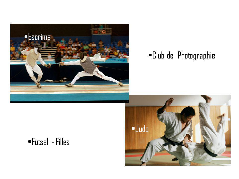 Escrime Club de Photographie Judo Futsal - Filles
