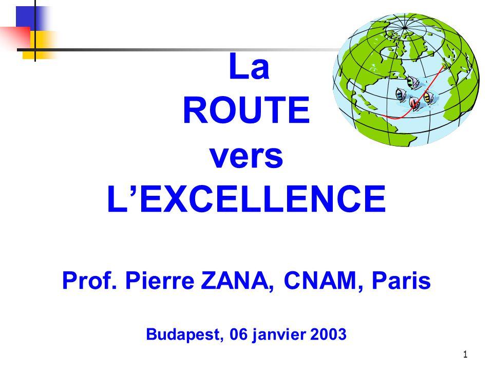 La ROUTE vers L'EXCELLENCE Prof
