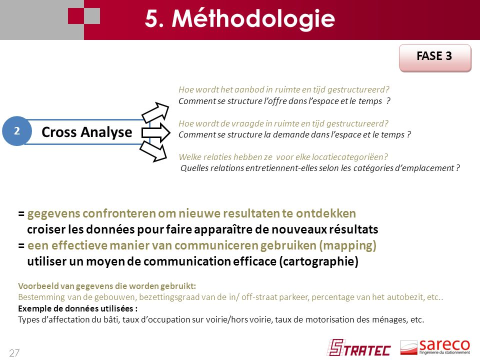 5. Méthodologie Cross Analyse FASE 3