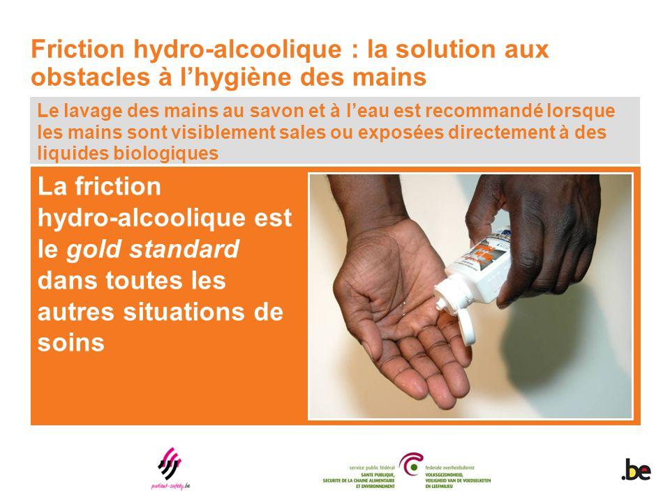 Friction hydro-alcoolique : la solution aux obstacles à l'hygiène des mains