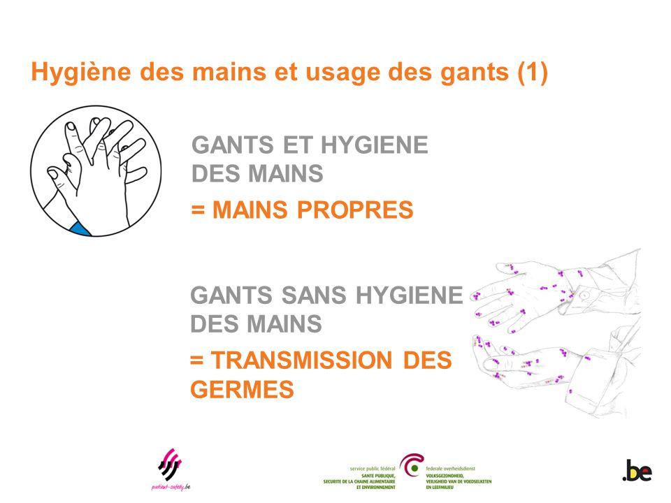 Hygiène des mains et usage des gants (1)