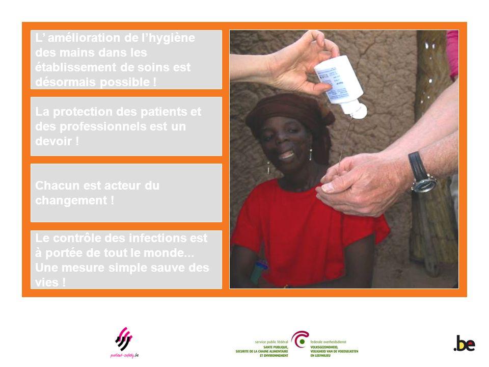 L' amélioration de l'hygiène des mains dans les établissement de soins est désormais possible !