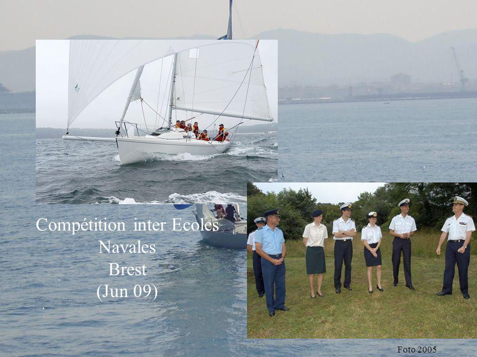 Compétition inter Ecoles Navales
