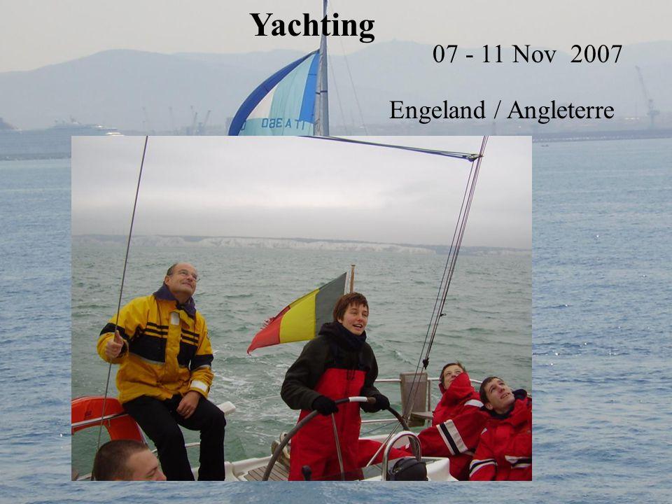 Yachting 07 - 11 Nov 2007 Engeland / Angleterre