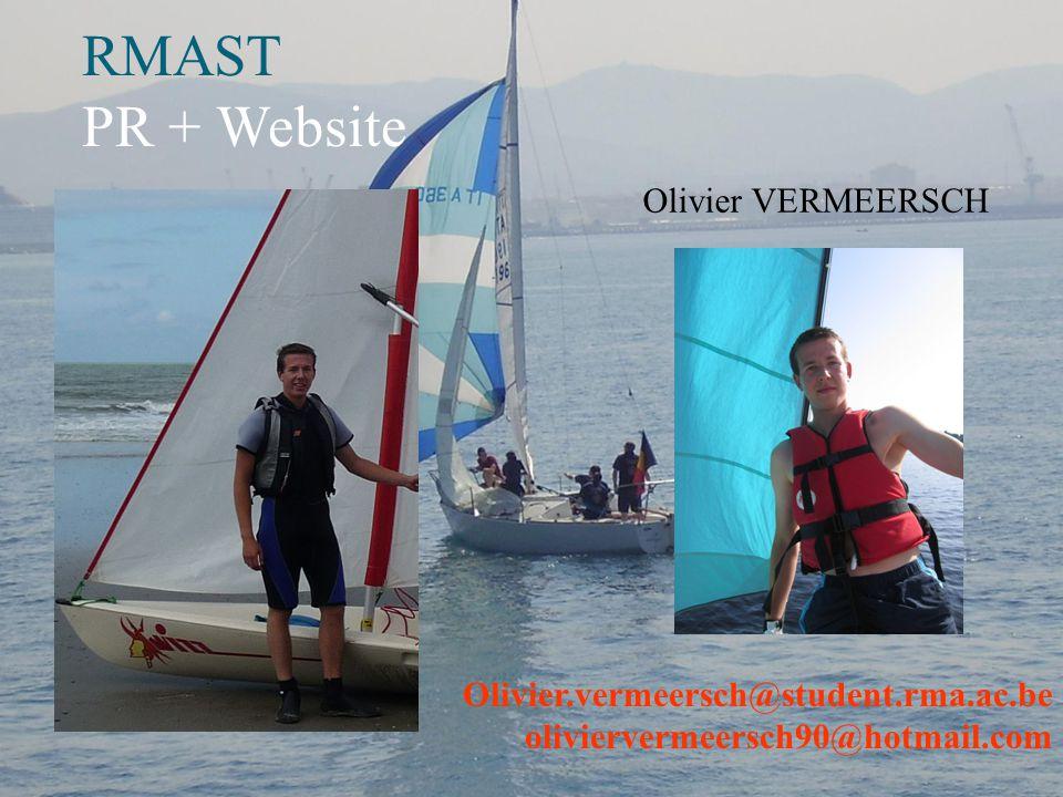 RMAST PR + Website Olivier VERMEERSCH