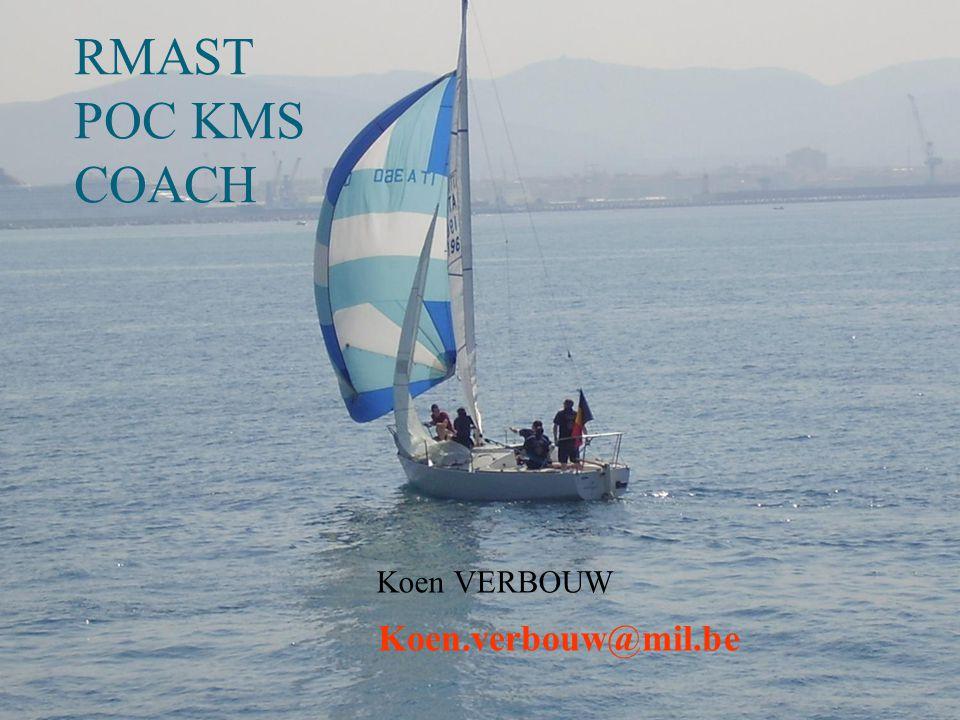 RMAST POC KMS COACH Koen VERBOUW Koen.verbouw@mil.be