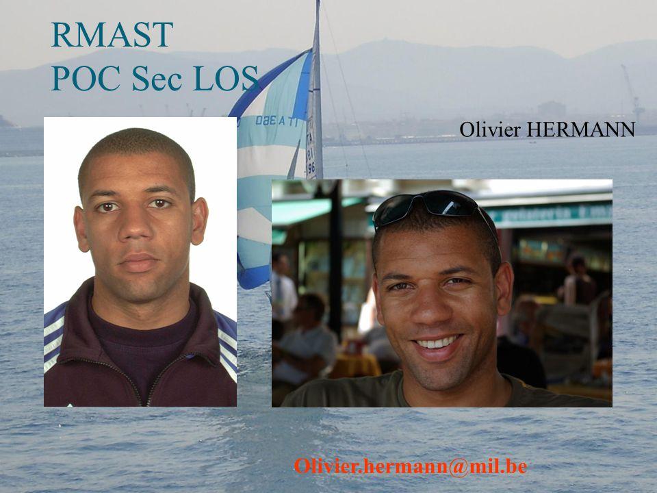 RMAST POC Sec LOS Olivier HERMANN Olivier.hermann@mil.be