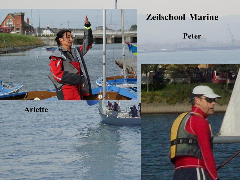 Zeilschool Marine Peter Arlette
