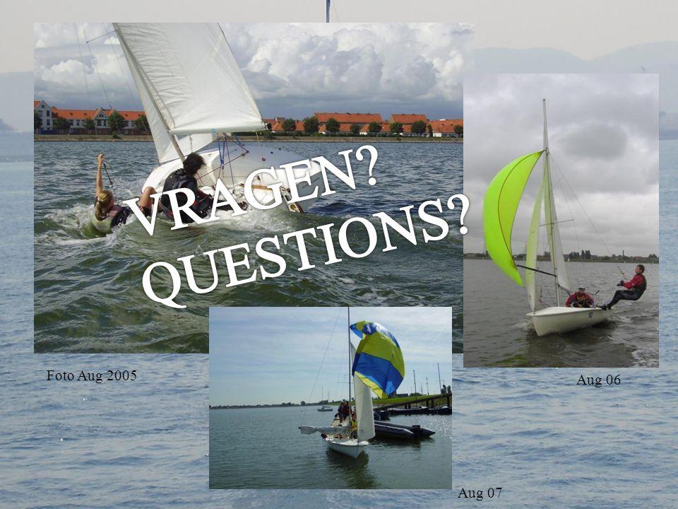 VRAGEN QUESTIONS Foto Aug 2005 Aug 06 Aug 07
