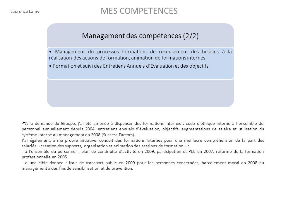 Management des compétences (2/2)