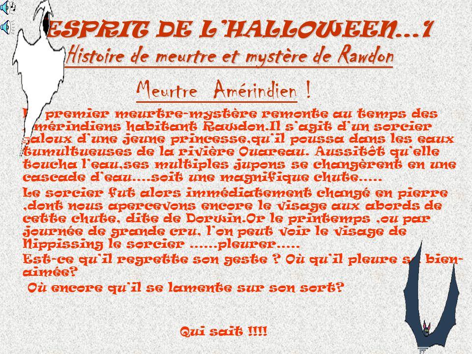 ESPRIT DE L'HALLOWEEN…1