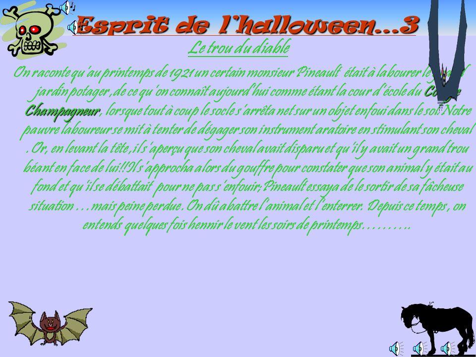 Esprit de l'halloween…3