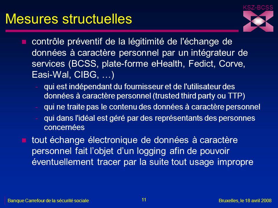 Mesures structuelles