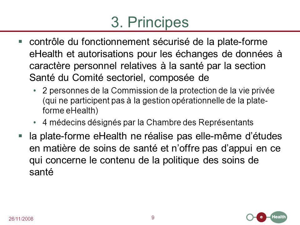 3. Principes