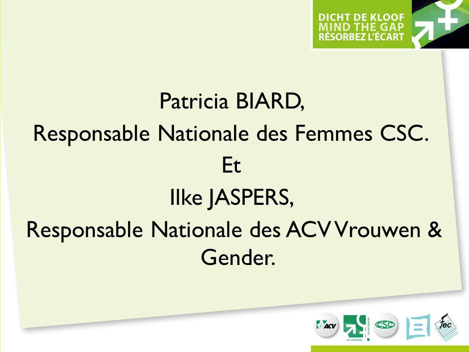 Patricia Biard, Responsable Nationale des Femmes CSC