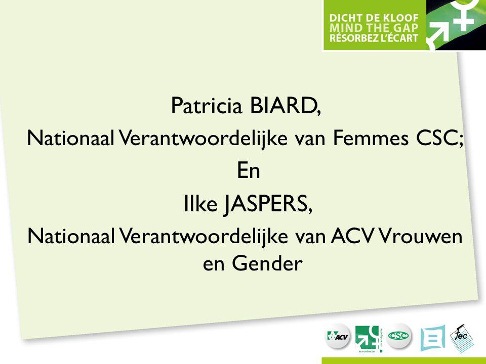 Patricia BIARD, En Ilke JASPERS,