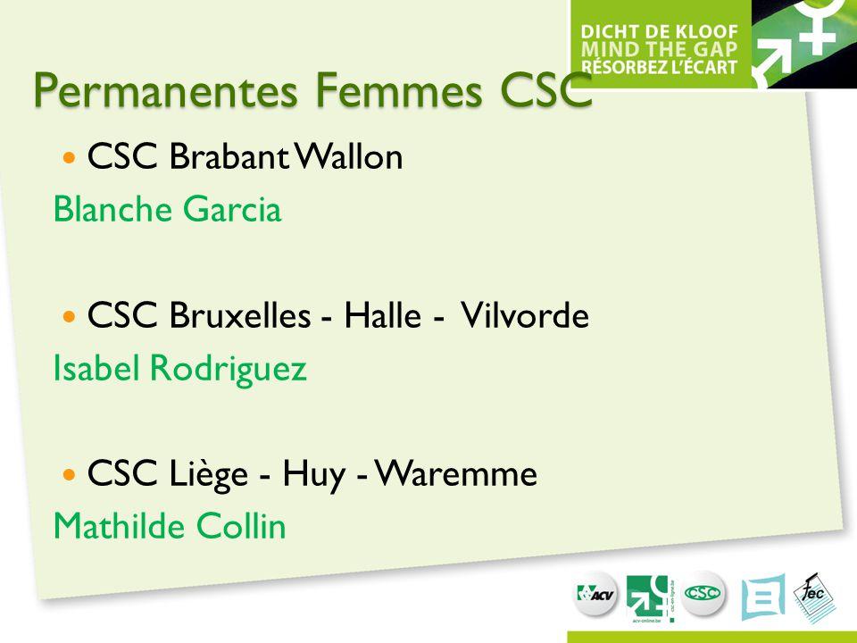 Permanentes Femmes CSC