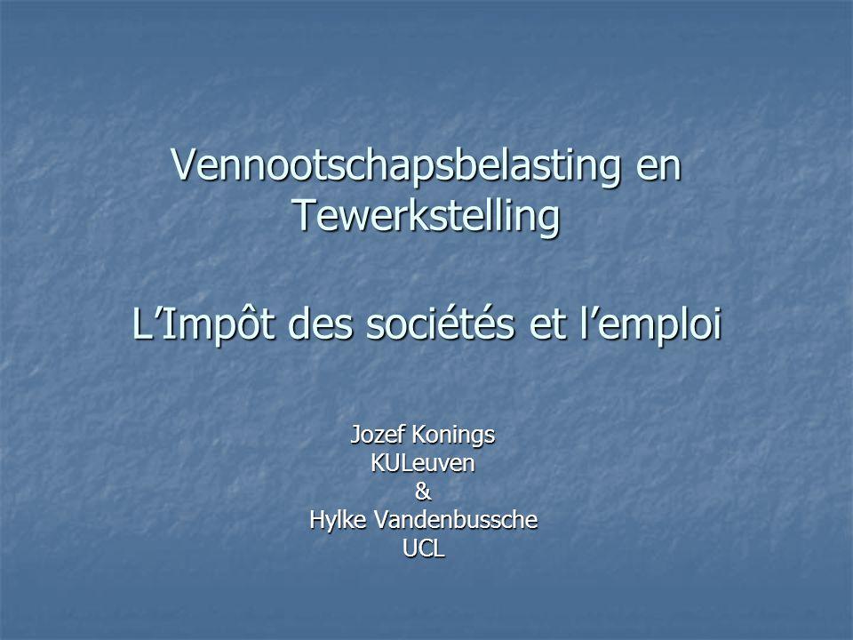 Jozef Konings KULeuven & Hylke Vandenbussche UCL