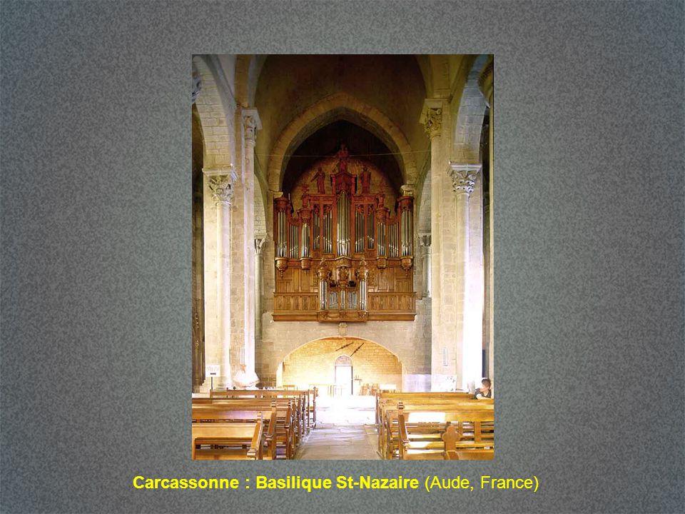 Carcassonne : Basilique St-Nazaire (Aude, France)