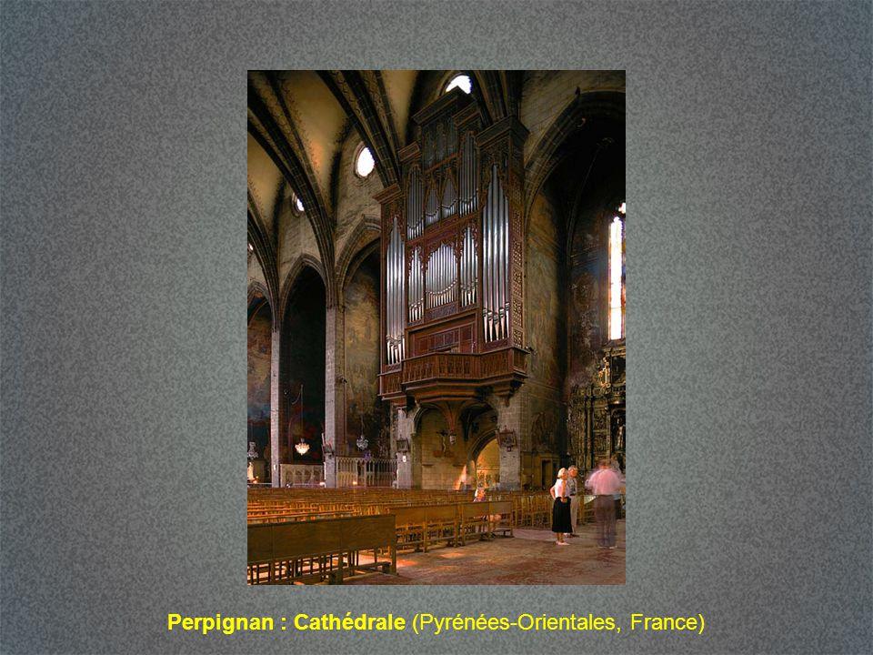 Perpignan : Cathédrale (Pyrénées-Orientales, France)