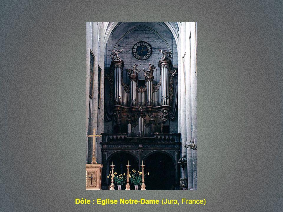 Dôle : Eglise Notre-Dame (Jura, France)