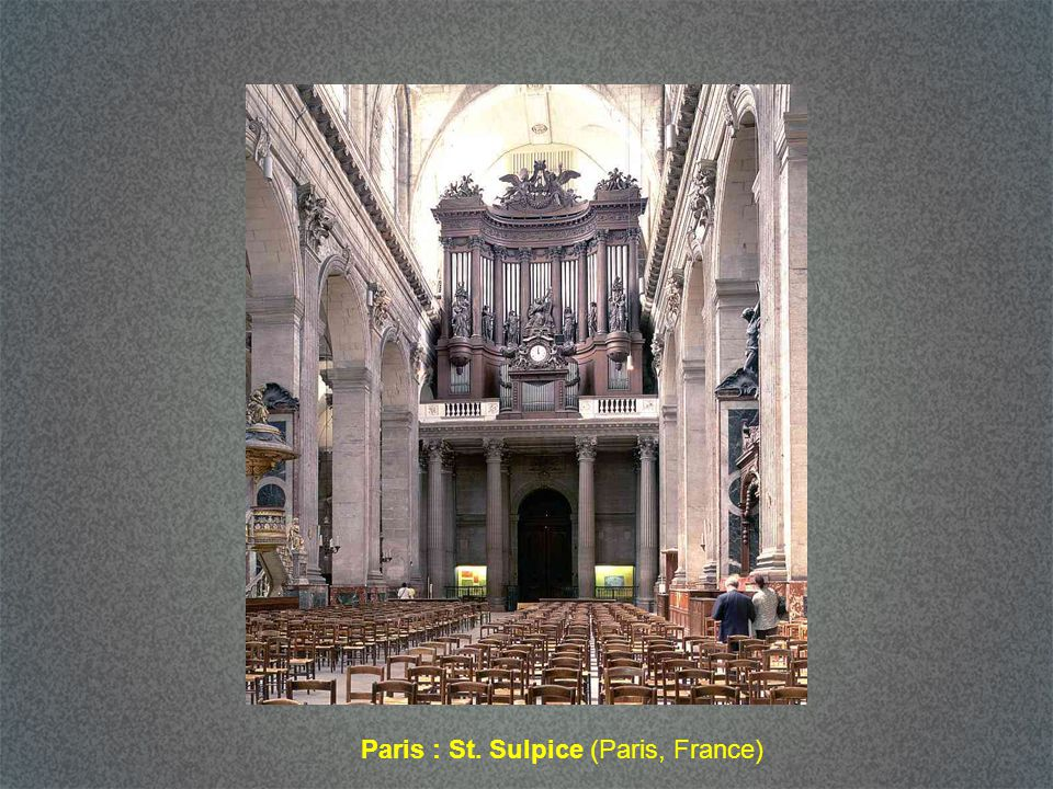 Paris : St. Sulpice (Paris, France)