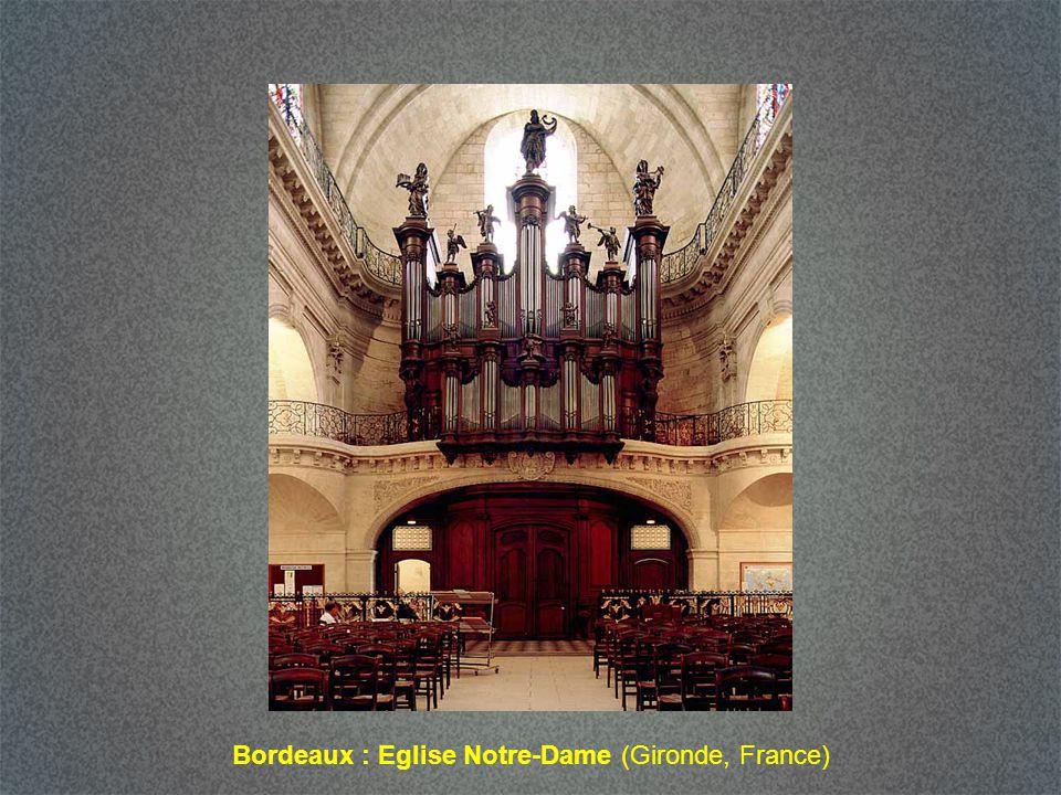 Bordeaux : Eglise Notre-Dame (Gironde, France)
