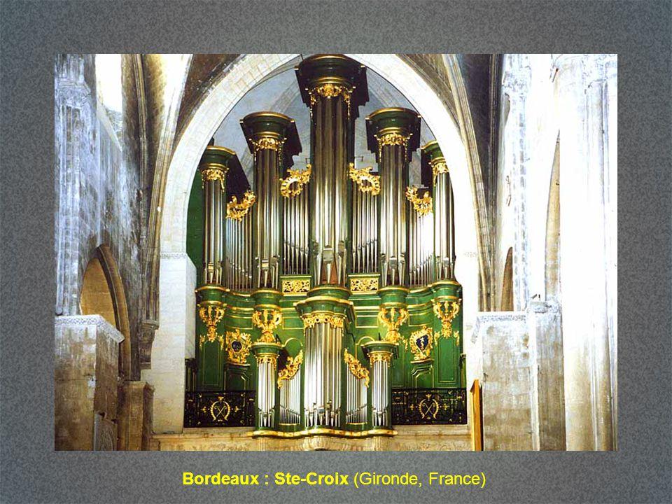 Bordeaux : Ste-Croix (Gironde, France)
