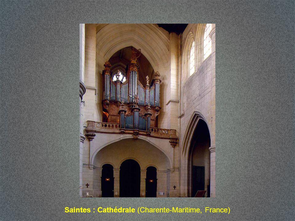Saintes : Cathédrale (Charente-Maritime, France)