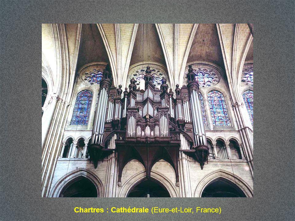 Chartres : Cathédrale (Eure-et-Loir, France)