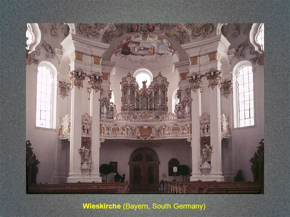 Wieskirche (Bayern, South Germany)