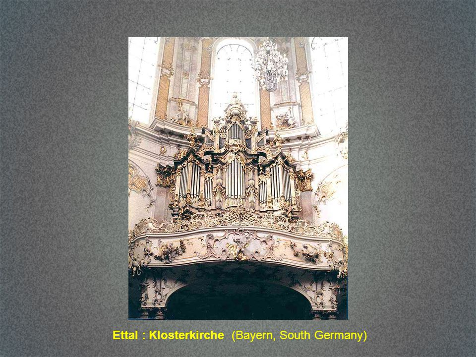 Ettal : Klosterkirche (Bayern, South Germany)