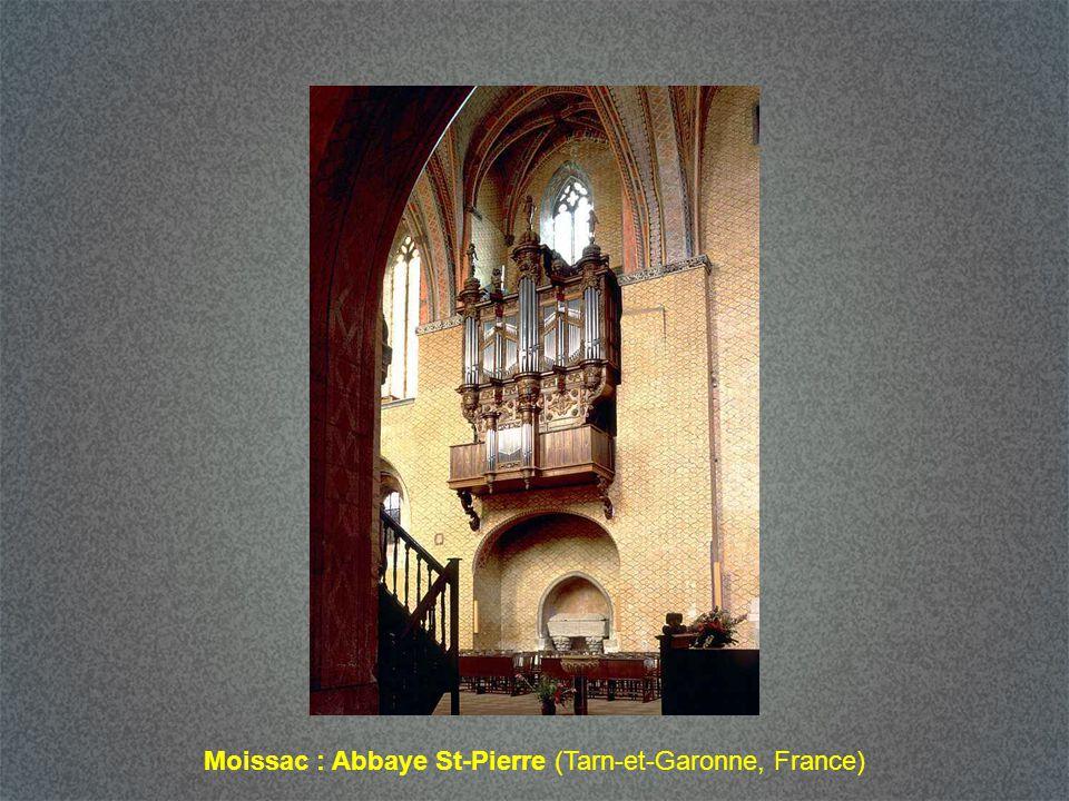 Moissac : Abbaye St-Pierre (Tarn-et-Garonne, France)