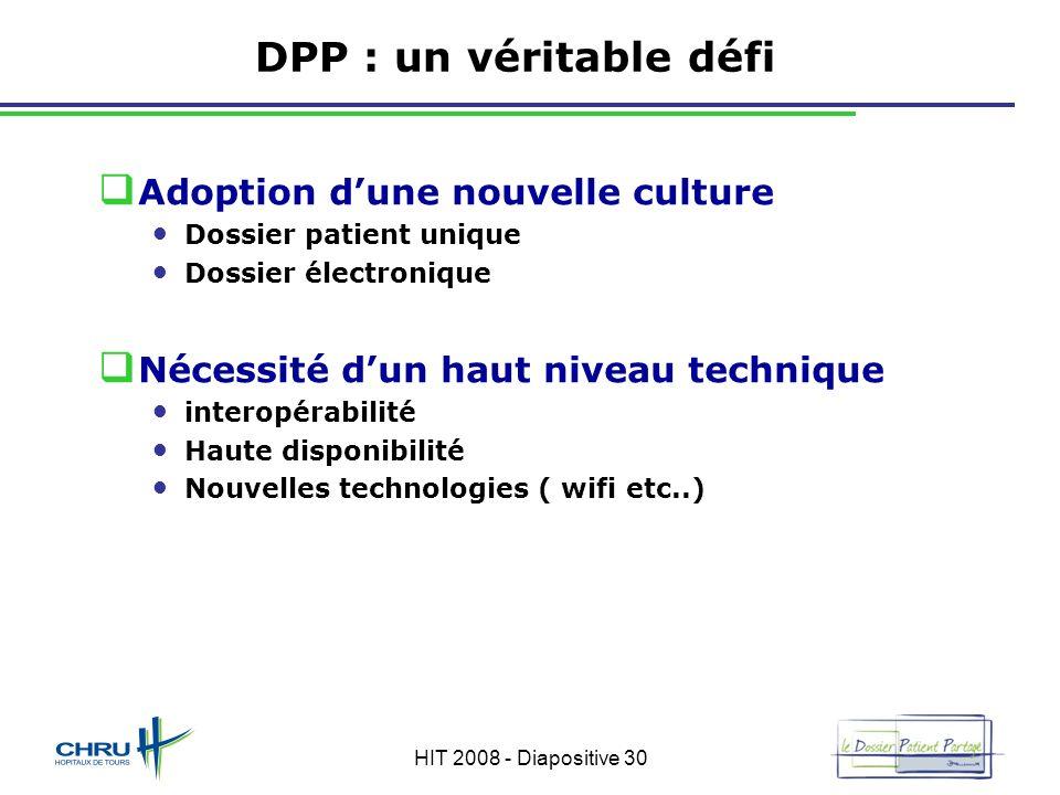 DPP : un véritable défi Adoption d'une nouvelle culture