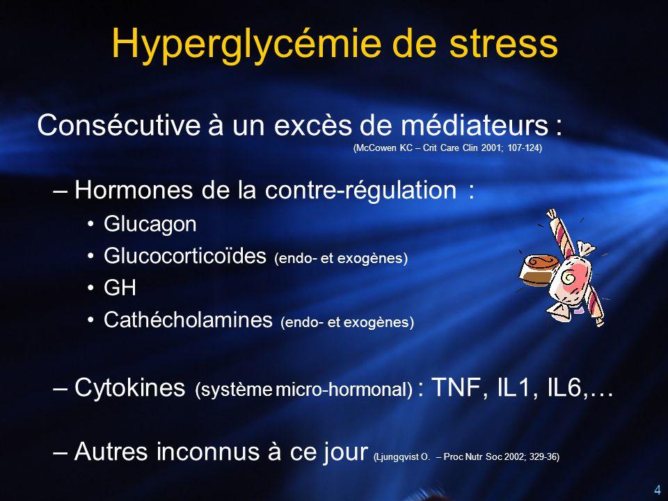 Hyperglycémie de stress