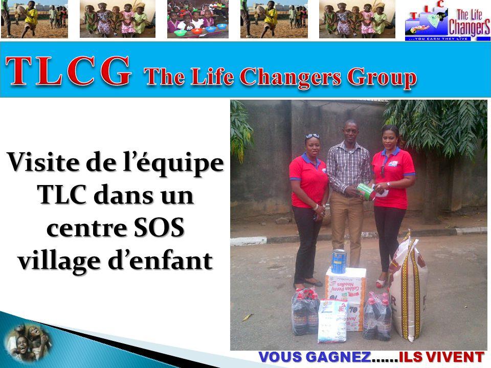Visite de l'équipe TLC dans un centre SOS village d'enfant