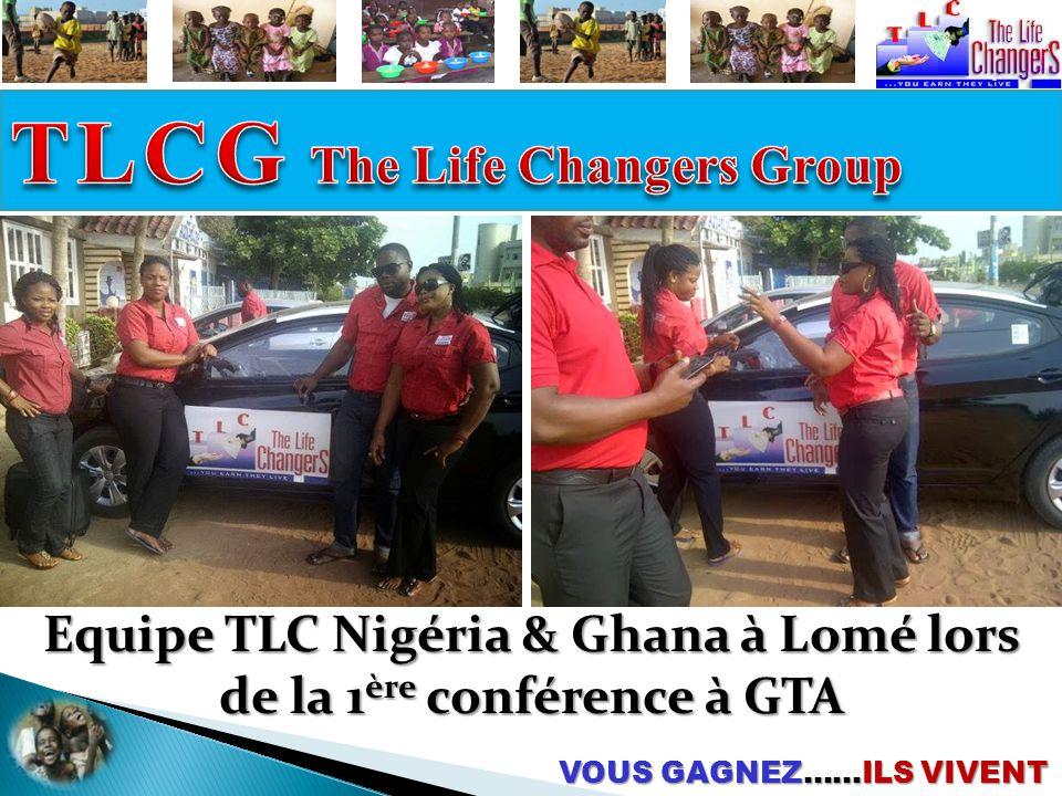 Equipe TLC Nigéria & Ghana à Lomé lors de la 1ère conférence à GTA