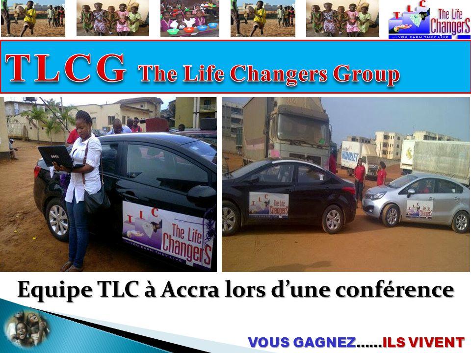 Equipe TLC à Accra lors d'une conférence