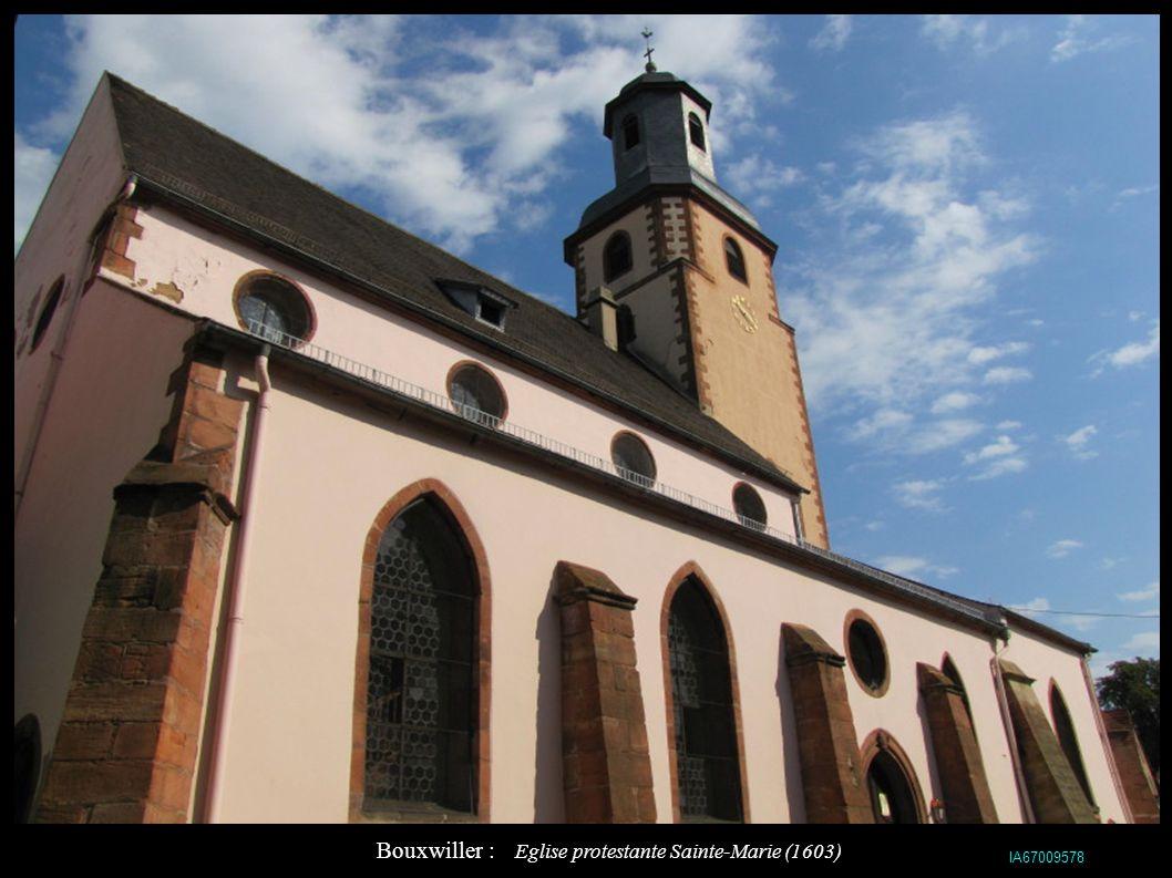 Bouxwiller : Eglise protestante Sainte-Marie (1603)