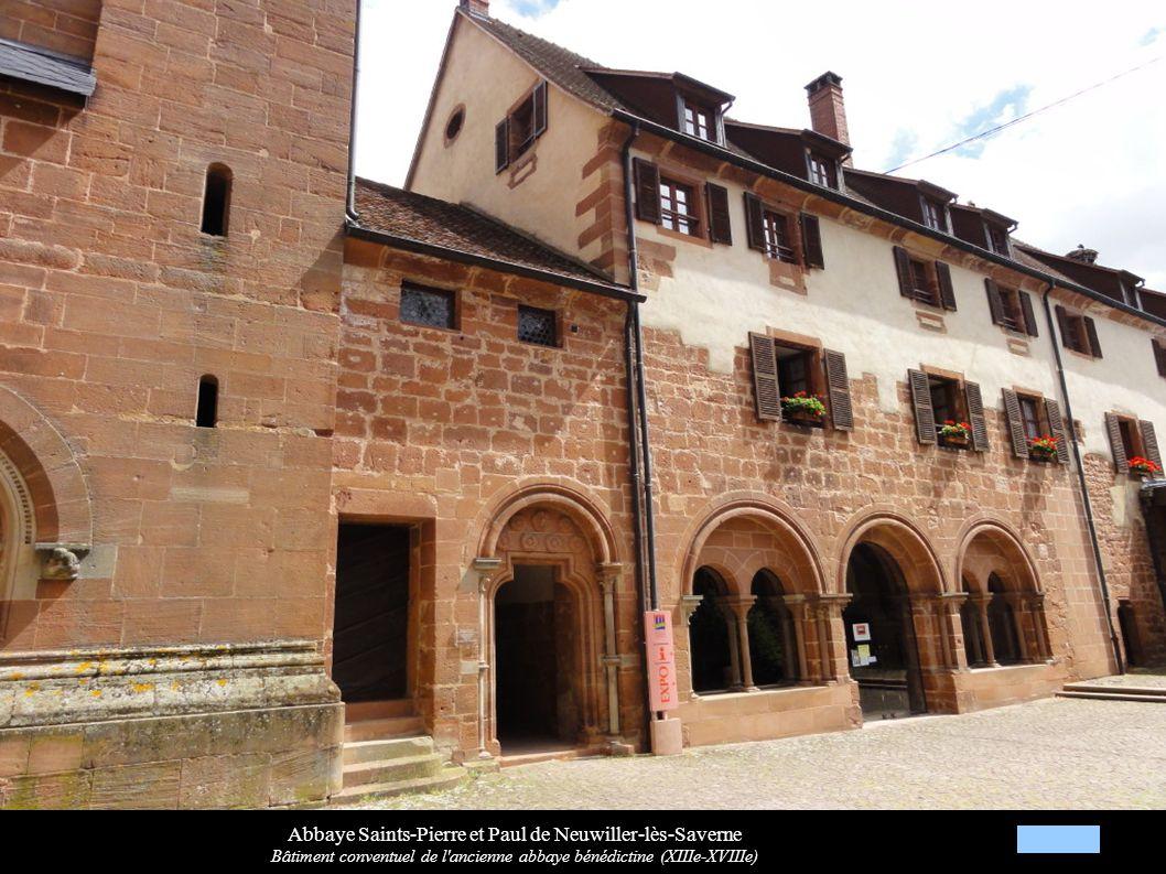 Abbaye Saints-Pierre et Paul de Neuwiller-lès-Saverne