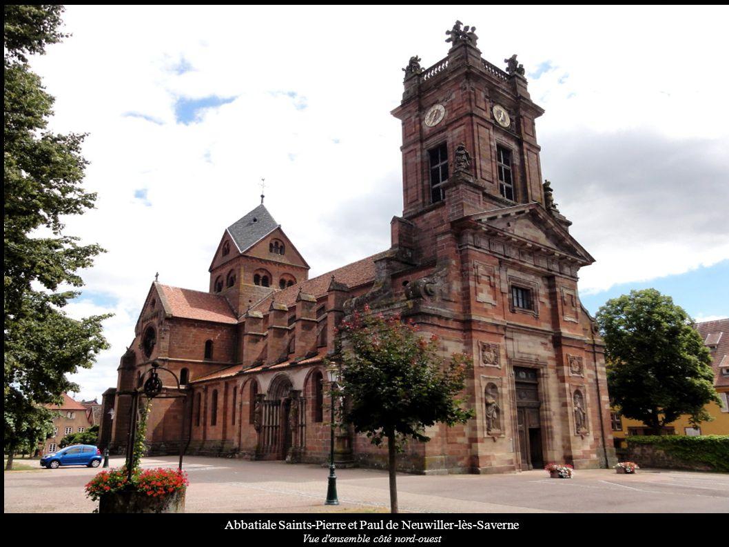 Abbatiale Saints-Pierre et Paul de Neuwiller-lès-Saverne