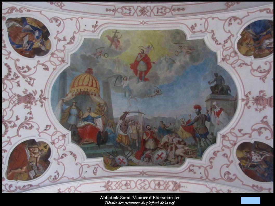 Abbatiale Saint-Maurice d Ebersmunster