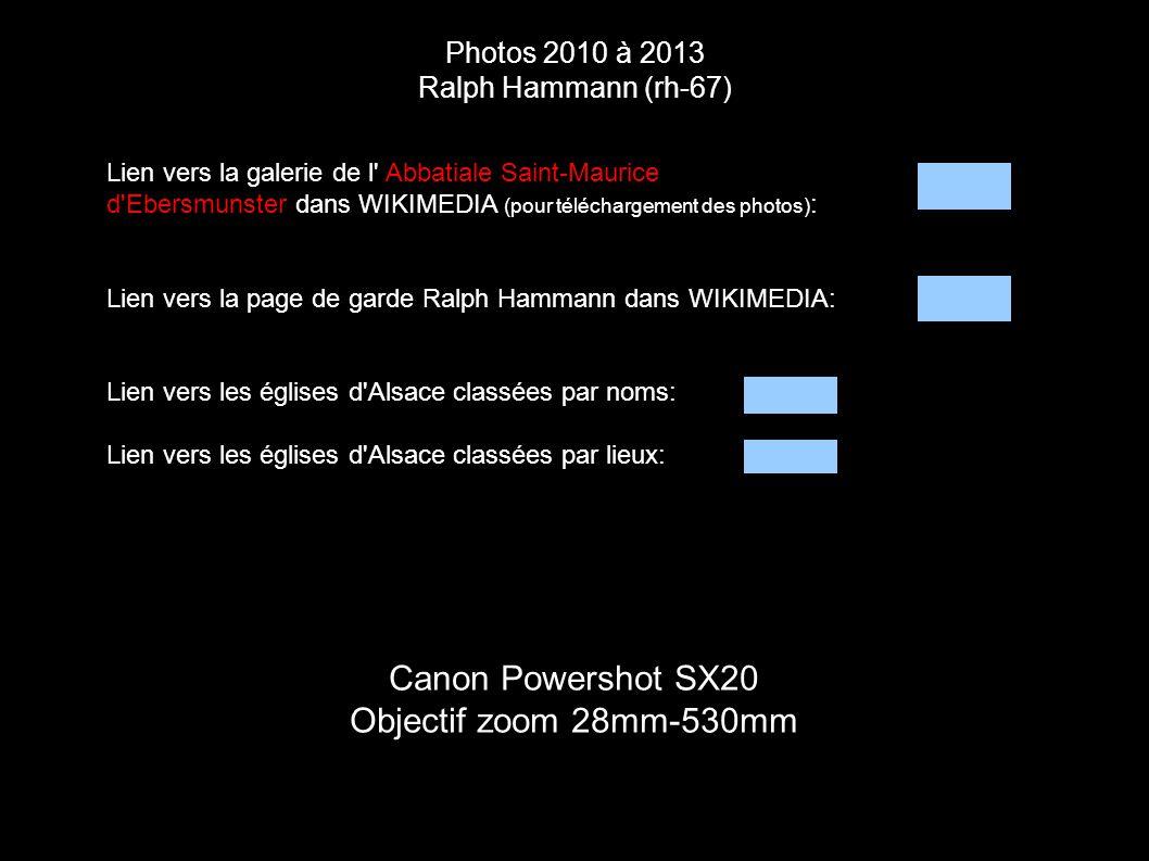 Canon Powershot SX20 Objectif zoom 28mm-530mm Photos 2010 à 2013