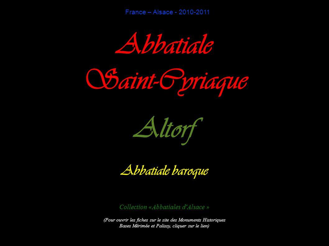 Abbatiale Saint-Cyriaque Altorf