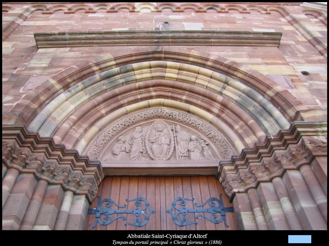 Abbatiale Saint-Cyriaque d Altorf