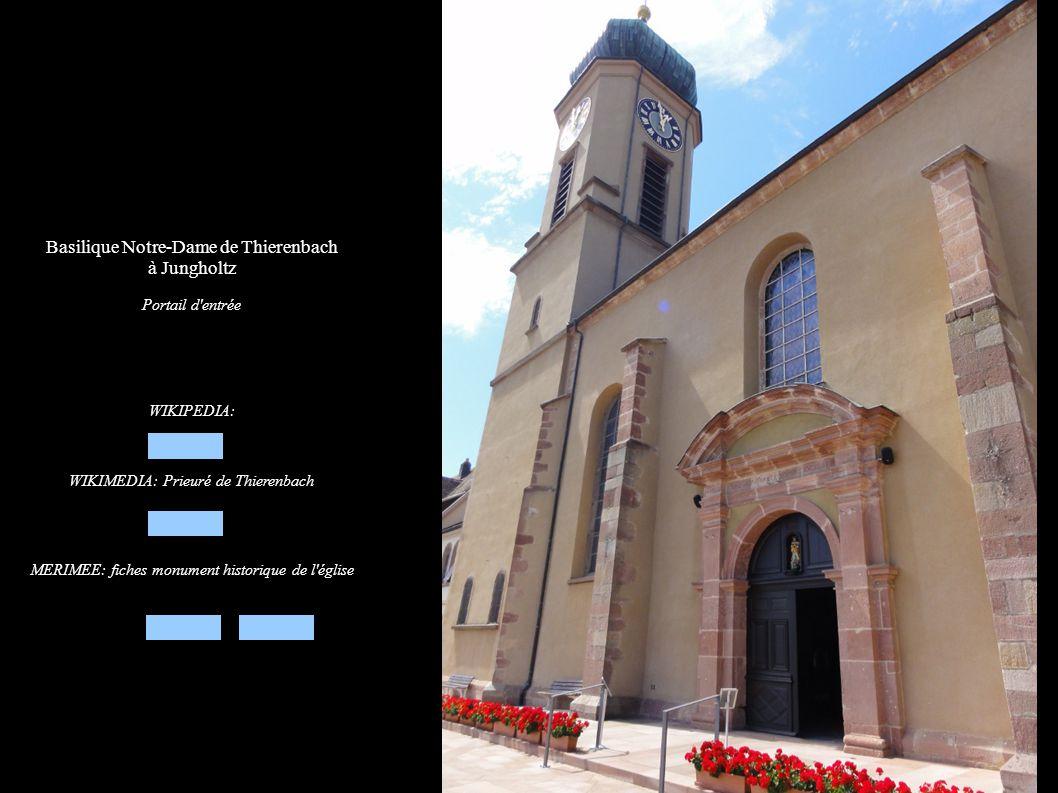 Basilique Notre-Dame de Thierenbach à Jungholtz