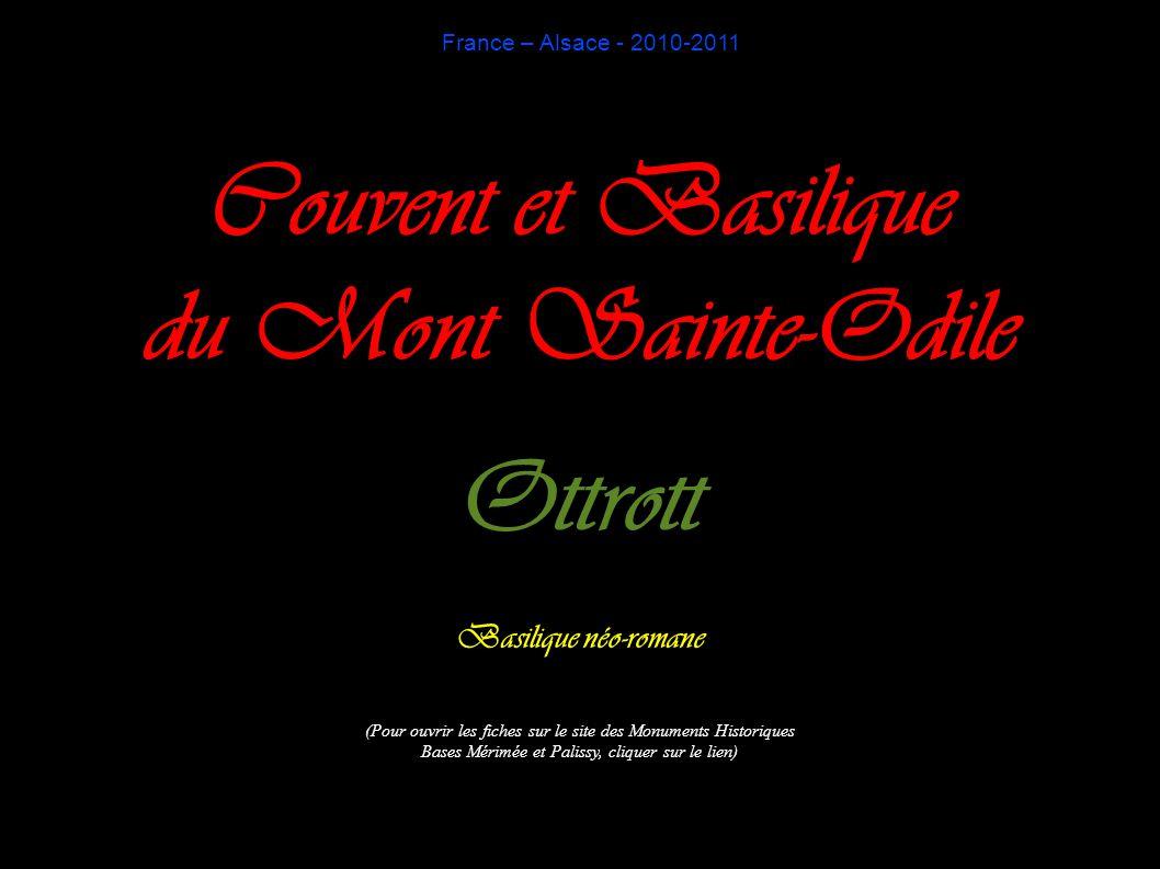 Couvent et Basilique du Mont Sainte-Odile Ottrott