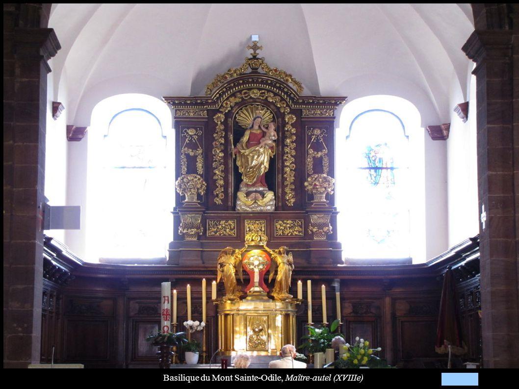 Basilique du Mont Sainte-Odile, Maître-autel (XVIIIe)