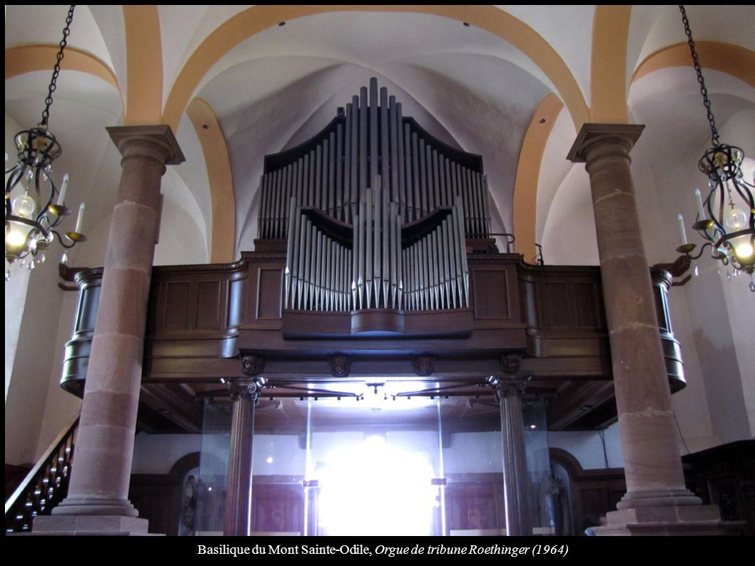 Basilique du Mont Sainte-Odile, Orgue de tribune Roethinger (1964)